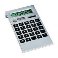 China Two power calculator lcd display/Two Way Power silver 8 digit electronic calculator wholesale