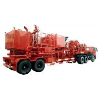 600 bhp Double Pump Cementing Trailer