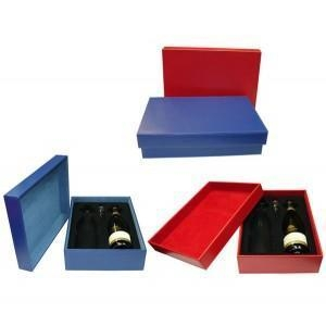 Quality FN0760 - Leather Wine Gift Box for sale