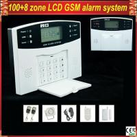 China GSM-500 Wireless Home Security LCD display GSM Alarm System with remote control wholesale