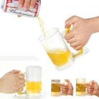 China Brazil World Cup Self-Foaming Beer Mug on sale