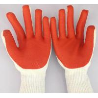 China rubber palm coated working glove wholesale