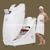 China SPT302ALuxury Herbal Fumigation hydro steam Spa Capsule DVD screen White wholesale