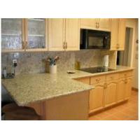 China giallo ornamental Granite Countertop Tile Tread Panel on sale