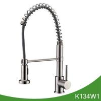 China Spring pull down kitchen faucet wholesale