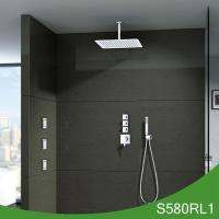 China Yazi bathroom accessories Concealed thermostatic shower set wholesale