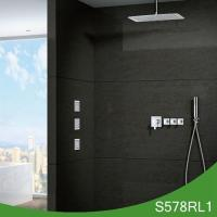 Yazi bathroom accessories Hot cold shower set with body jet