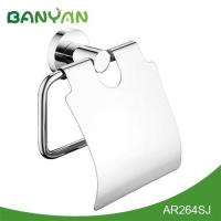 China Yazi bathroom accessories Polished brass toilet paper towel holder on sale