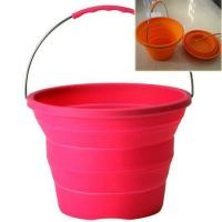 Quality High Quality Silicone Collapsible Bucket for sale