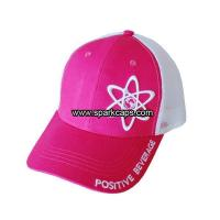 China Pink outdoor sports girls trucker snapback cap on sale