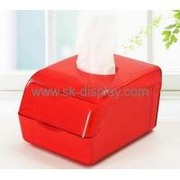 China Hot selling clear plastic storage box mini tissue box plastic storage box with lid DBS-111 wholesale