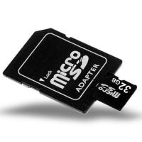 China 32GB MicroSD / TF Card with SD Card Slot Adapter - Low Price on sale