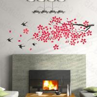 Lucky Tree - Large Wall Decals Stickers Appliques Home Decor