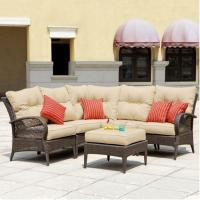 China Mission Hills Modular Wicker Collection Laguna Seating Outdoor Patio Lawn And Garden Furniture Set wholesale