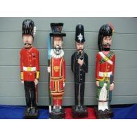 British EmpireHand Carved Wooden Soldiers