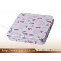 China Tea Canister box Series YT-TSQ 120*120*25 wholesale