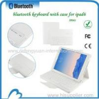 China Leather Wireless Bluetooth Detachable Keyboard Case Cover wholesale