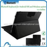 China Bluetooth keyboard with leather case 12.2 inches Tablet PC wholesale