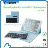 China 7-8 inches universal bluetooth keyboard for Andriod IOS window system wholesale