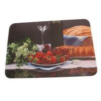 China Sublimation Printed Rubber Bar Runner For Restaurants wholesale