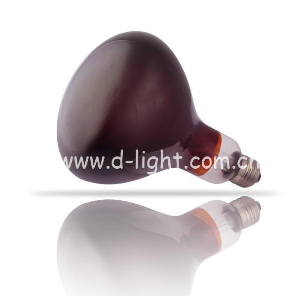 Quality R125 Roasted Red Infrared Ray Bulb E27 for sale