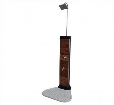 Quality Solar shower-wooden for sale