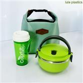 China Stainless steel lunch box with handle wholesale