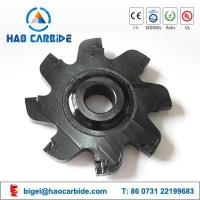 China Customized tungsten carbide road slotting machine inserts on sale