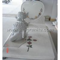 China Henan White marble Tombstone wholesale