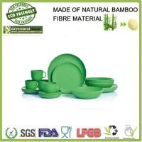 China Round collection bamboo dinnerware on sale