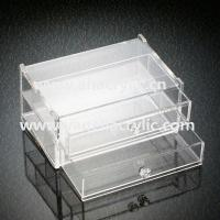 China acrylic organizer box wholesale