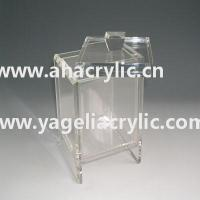 China acrylic box with lid wholesale