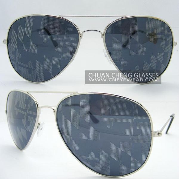 sunglasses china  china aviator print sunglasses