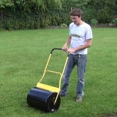 garden tool lawn roller on sale/ water and sand