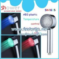 China Bathroom Colorful waterfull LED shower head leelongs hand shower led on sale