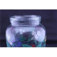 China High capacity colorful vintage glass storage jar with tap wholesale