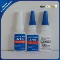 China Fast Drying Clear High Temp Cyanoacrylate Super Glue for Rubber , 416 50g wholesale