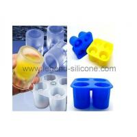 China Good quality flexible silicone ice tray mould/Ice Cube mold wholesale