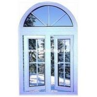 China Aluminum casement window with top arch wholesale