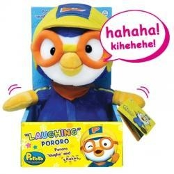Quality Laughing Pororo Plush Toy (9 inches) for sale