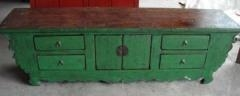 Quality Antique green TV standing for sale