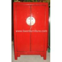 China Chinese antique red cabinet wholesale