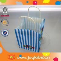 Square bottom paper bag with handle