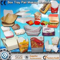 China Disposable Paper Boat Tray Making Machine wholesale
