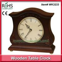 China WK323327.5x26 cm Wooden arts crafts resin clock wholesale