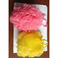 China Bath puff with cover wholesale