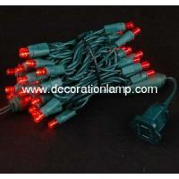 China 50ct Red Led 5mm Wide Angle Christmas String Lights wholesale