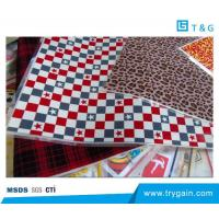 China Flock Transfer sheet For multi-color screen printing on sale