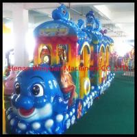 Family style big elephant electric train for sale
