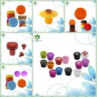 China The silicone bracelet silicone corks, beer bottle stoppers, bottle cap on sale